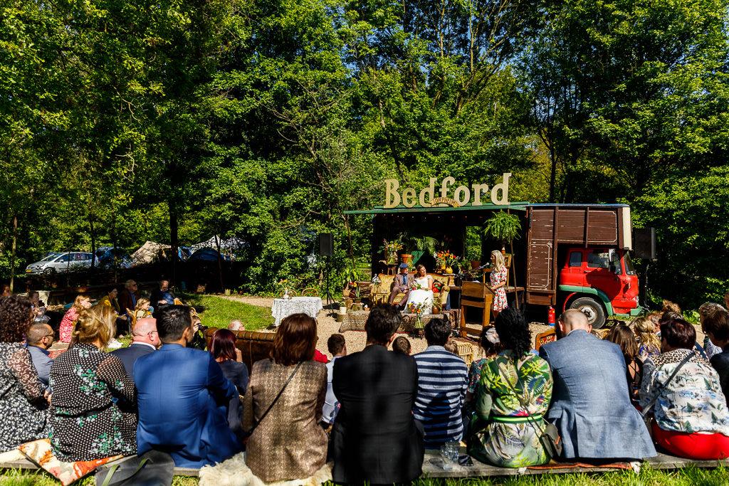 Trouwceremonie Camping Lievelinge