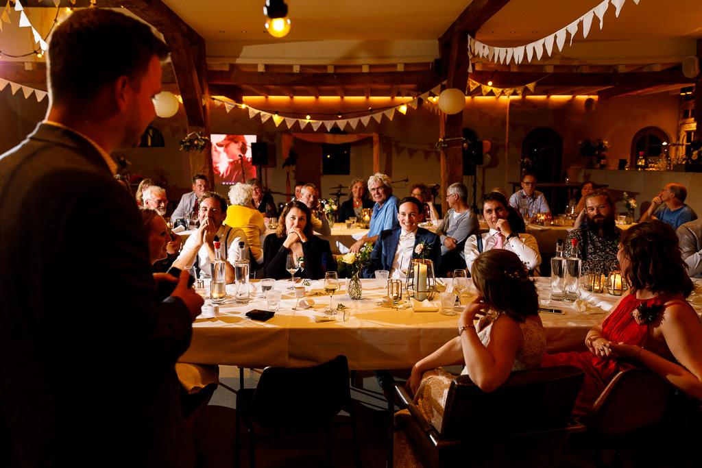 Bruiloft diner bij VRIJ in Culemborg