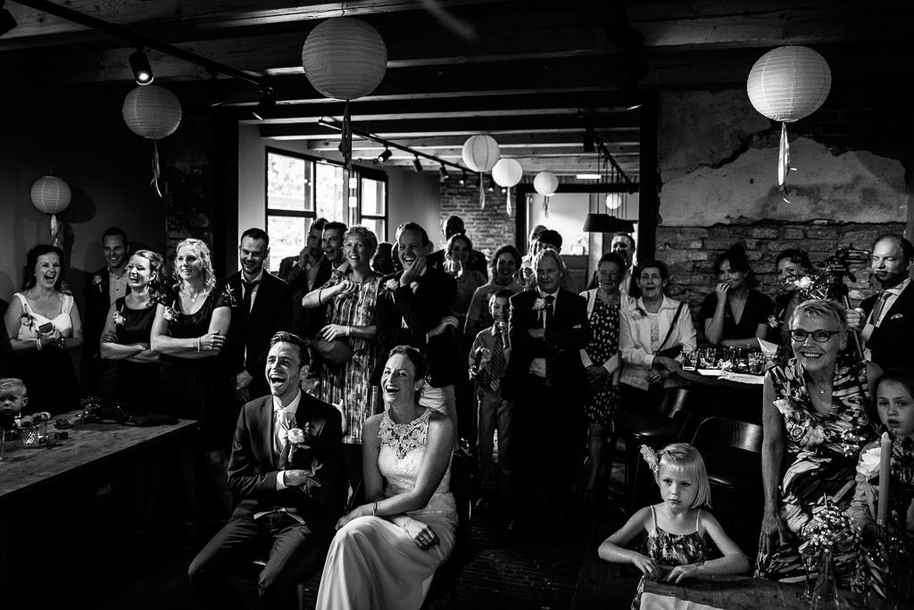 Stukjes bruiloft