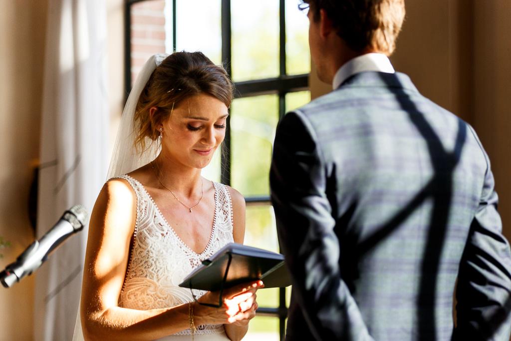 Geloftes tijdens bruiloft