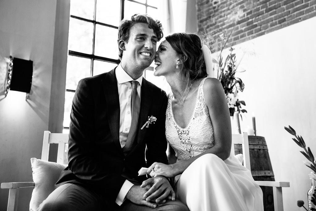 Spontane trouwceremonie