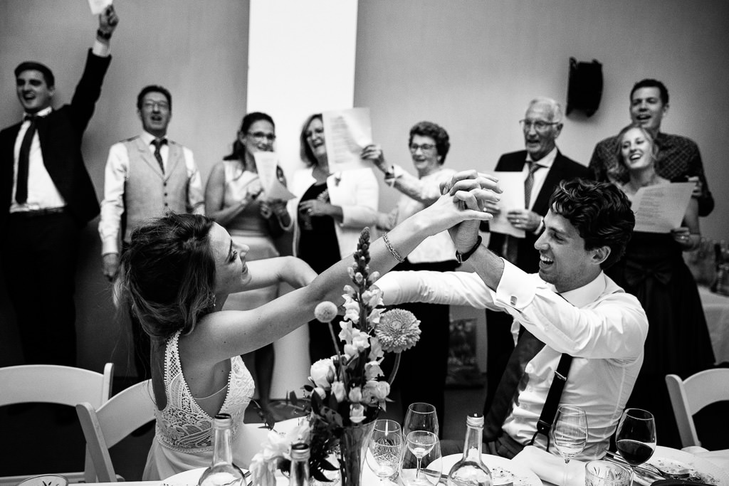 Liedjes tijdens bruiloft