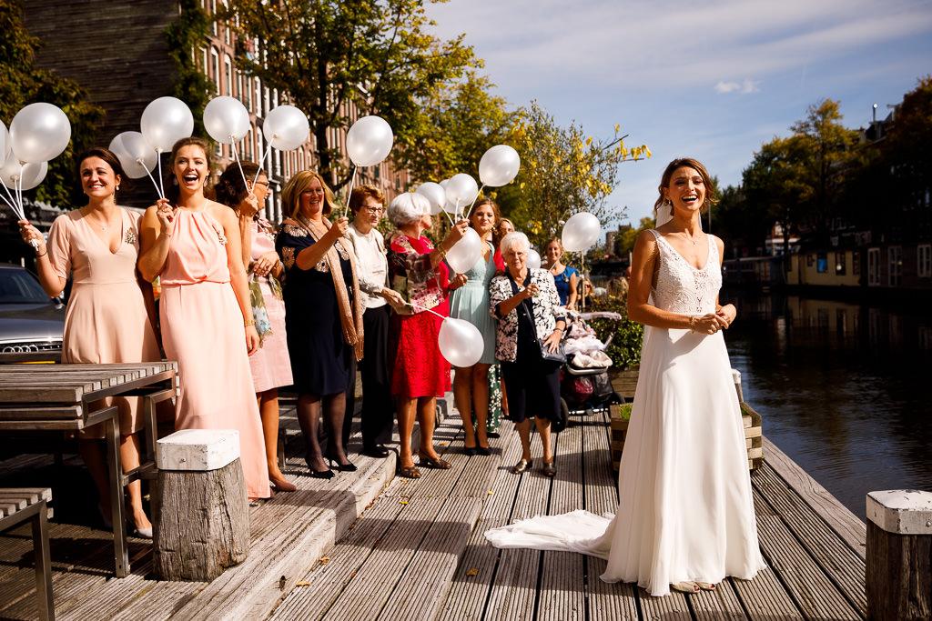 Bruiloft Rederij de Nederlanden