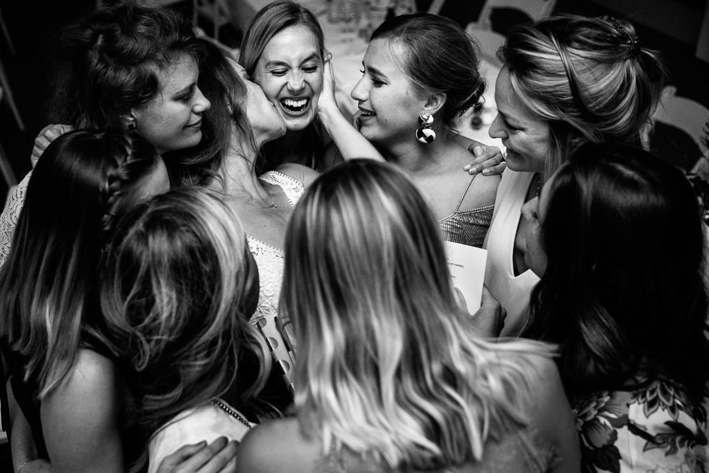 Beste vriendinnen bruiloft