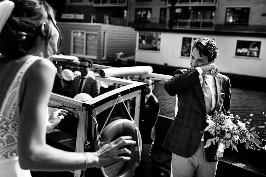 Rondvaart Amsterdam Bruiloft
