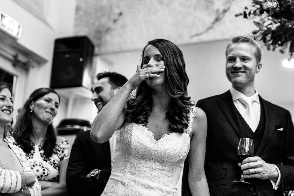 Bruiloft feest Amsterdam