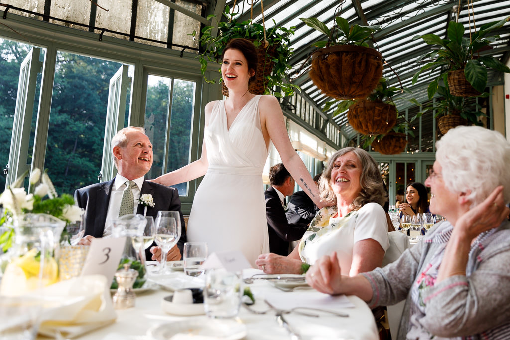 Bruiloft diner Kasteel Engelenburg