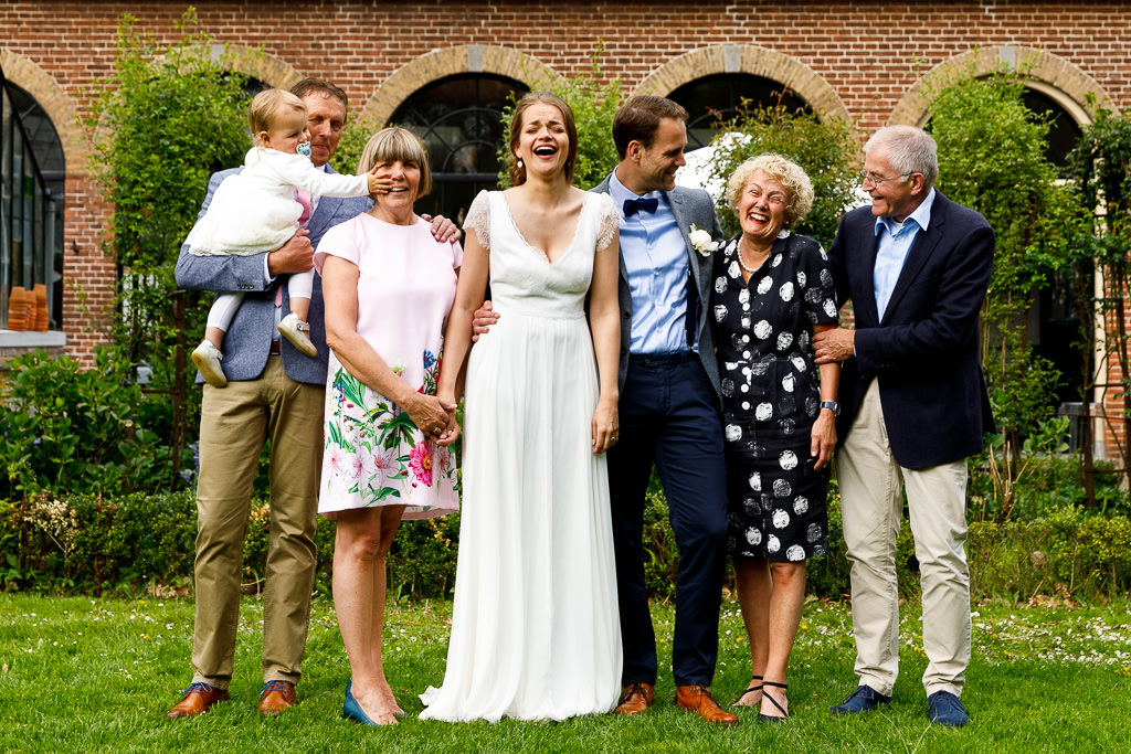 Groepsfoto's bruiloft