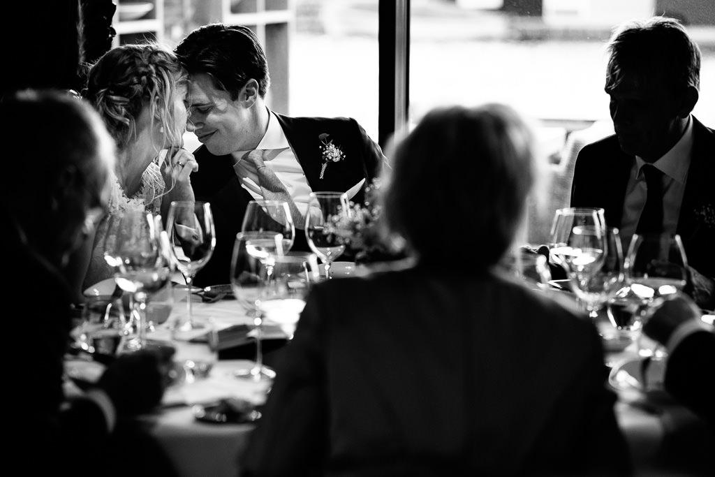 Speciale feestfoto bruiloft