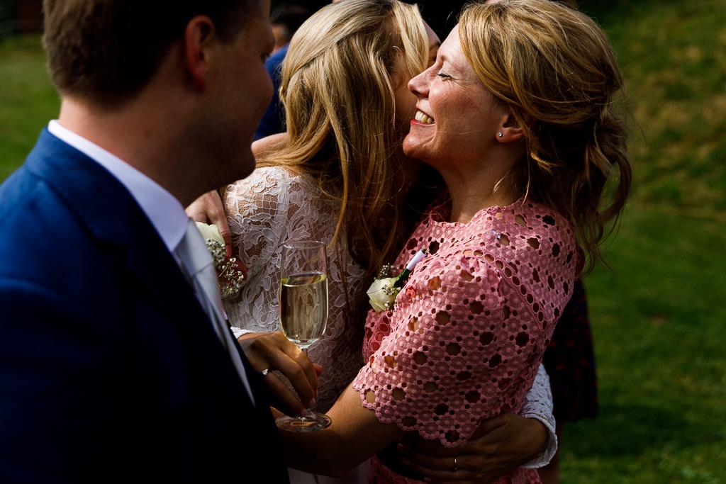 Felicitaties tijdens bruiloft