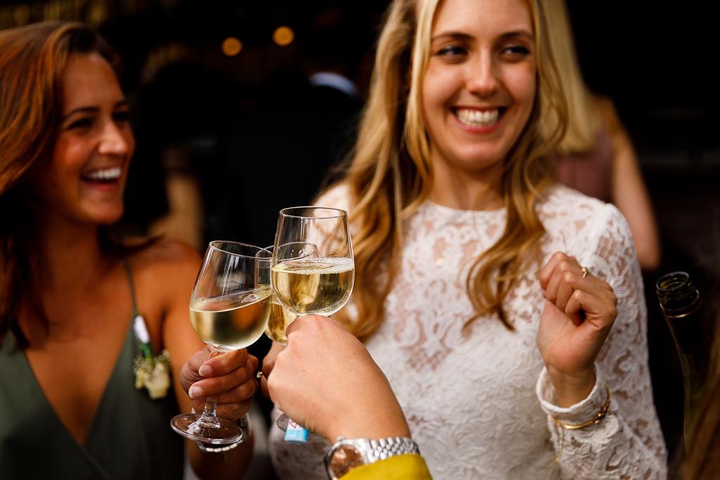 Feestelijke bruiloft Diemen