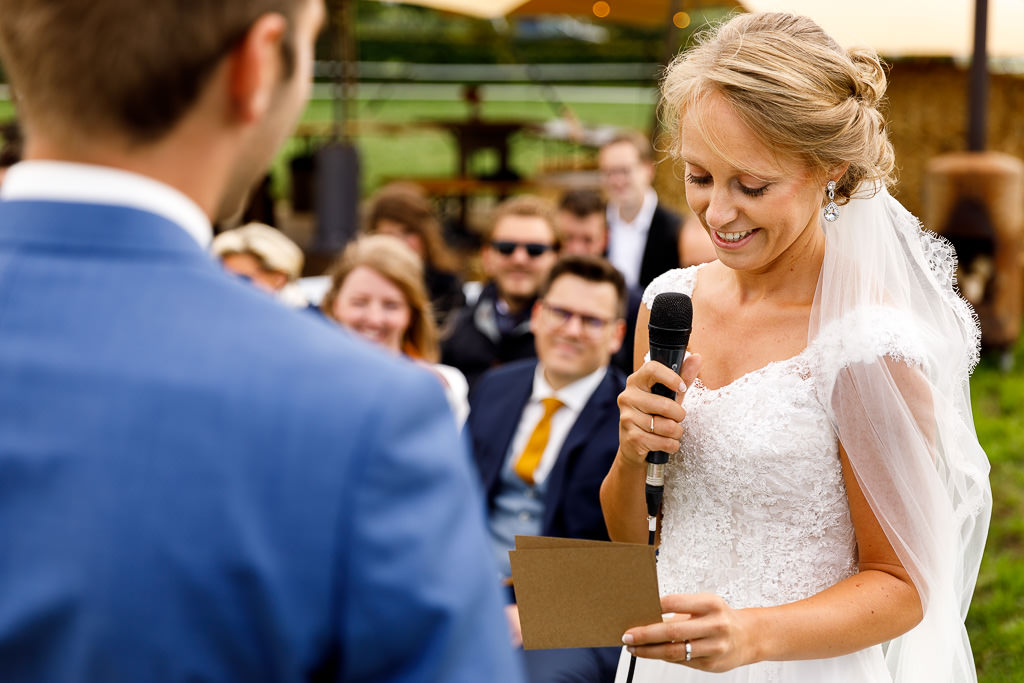 Geloften bruiloft