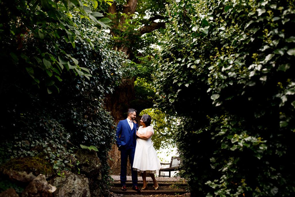 Fotoshoot bruiloft Hortus Leiden