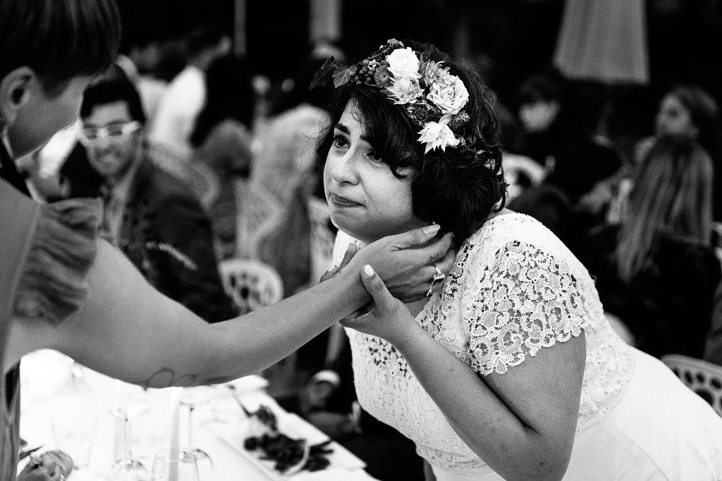Spontane momenten bruiloft
