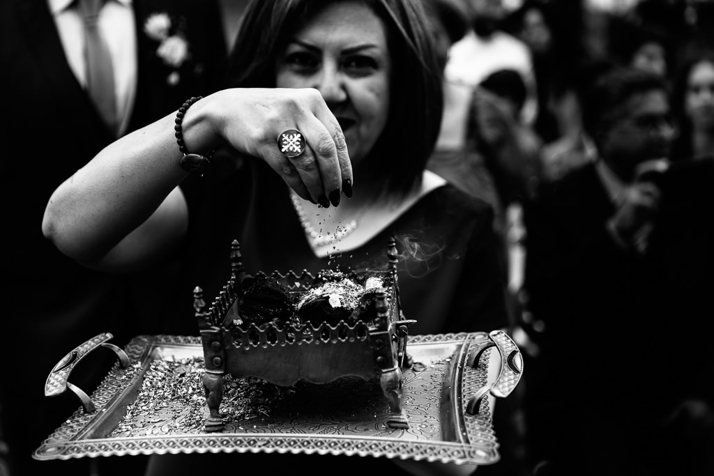 Sofreh Aghd ceremonie bruiloft
