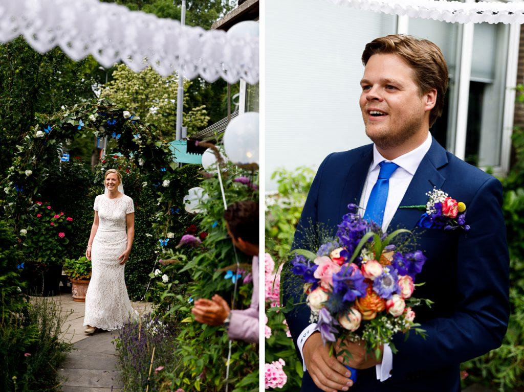 First look bruiloft Rotterdam
