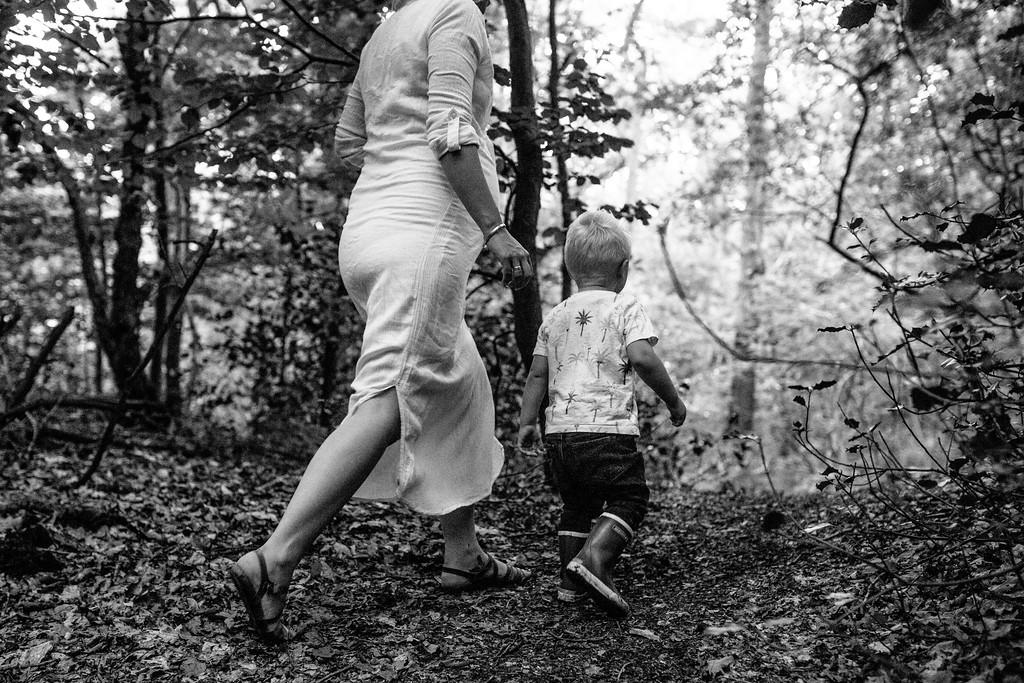 Zwangerschapsfotoshoot met gezin