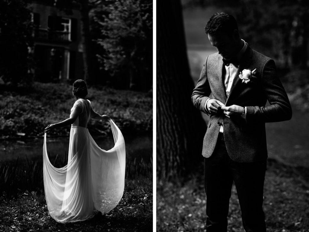 Stijlvolle trouwfoto's